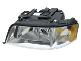 4B0941003BE Hella Headlight; Left Assembly; Halogen