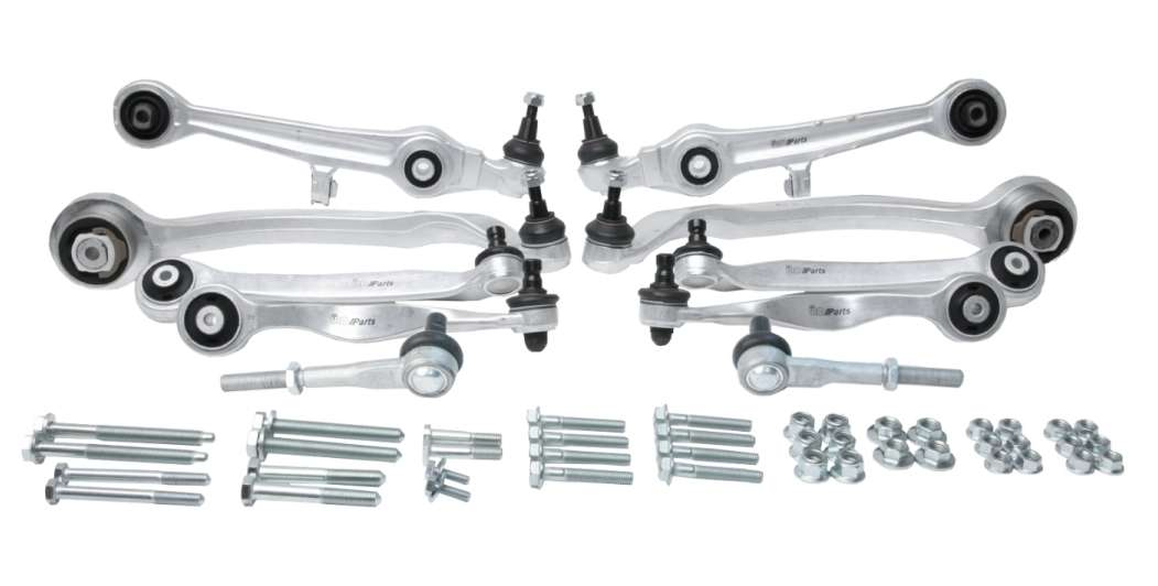 4B3498500C URO Parts Suspension Kit; 10 Piece Kit plus Hardware