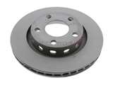 4D0615601B Zimmermann Coat Z Disc Brake Rotor; Rear ; Vented 269x22mm