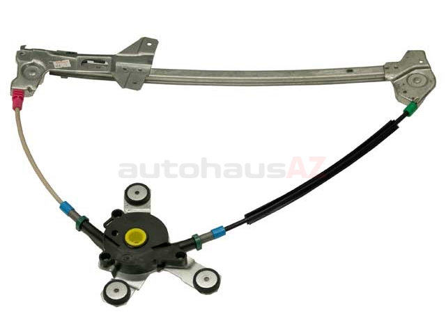4D0837461A Genuine Audi Window Regulator; Front Left