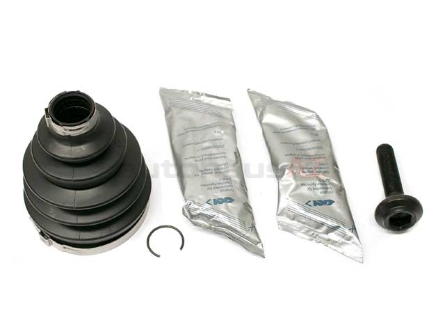 4E0498203 GKN Loebro CV Joint Boot Kit; Front Outer