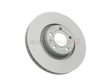4F0615301E Zimmermann Coat Z Disc Brake Rotor; Front ; Vented 321x30mm