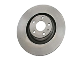 4F0615301G Zimmermann Coat Z Disc Brake Rotor; Front; Vented 347x30mm