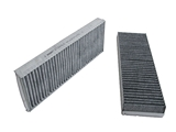 4F0819439AHE Hengst Cabin Air Filter; With Activated Charcoal