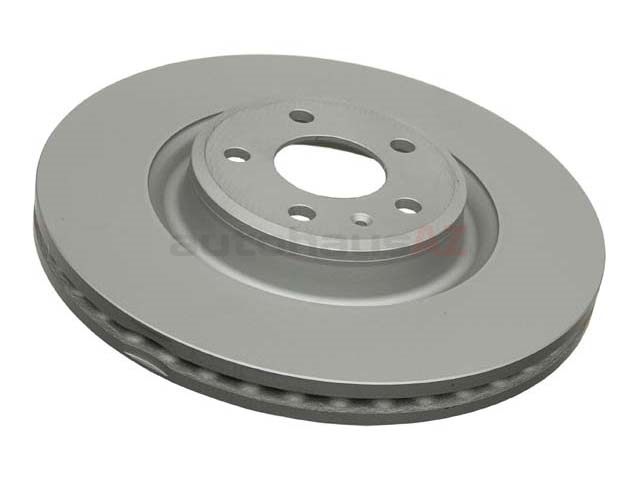 4G0615301 Zimmermann Coat Z Disc Brake Rotor; Front; Vented 345x30mm