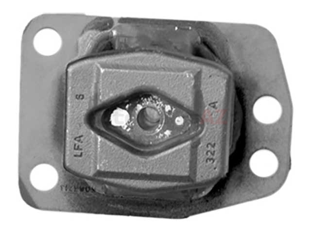 5063714 Professional Parts Sweden Engine Mount; Flat Style