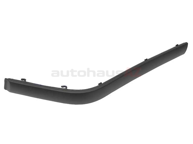 51118146077 URO Parts Bumper Impact Strip; Front Left