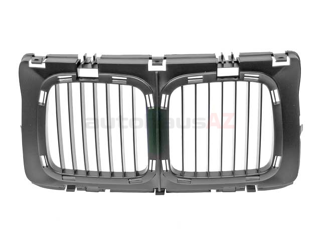 51131973825 Genuine BMW Grille; Center Assembly; Narrow Kidney Style (Standard)