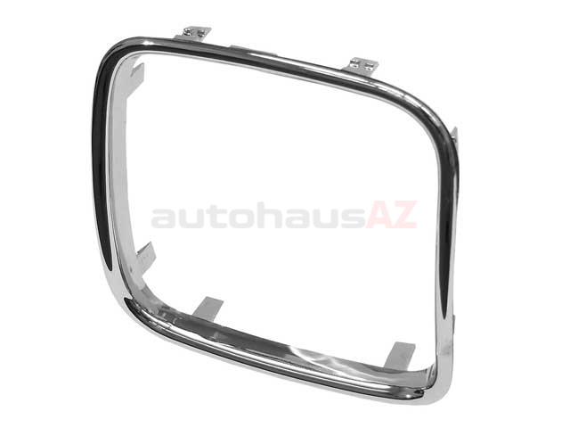 51131973897 Genuine BMW Grille; Grille Trim for Left Center Grille (Narrow Kidney)