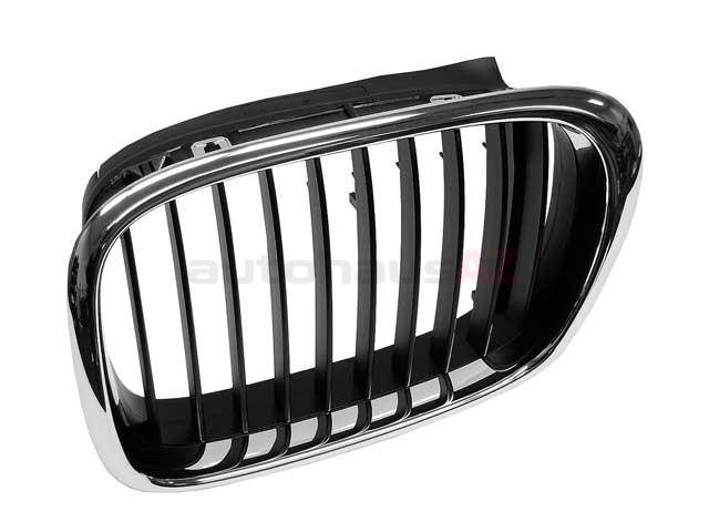 51137005837 Genuine BMW Grille; Front Left, Black