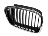 51137005838 Genuine BMW Grille; Front Right, Black