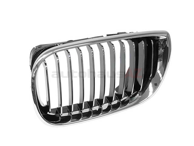 51137042961OE Genuine BMW Grille; Left; Chrome Grille and Trim