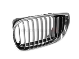 51137042961 Genuine BMW Grille; Left; Chrome Grille and Trim