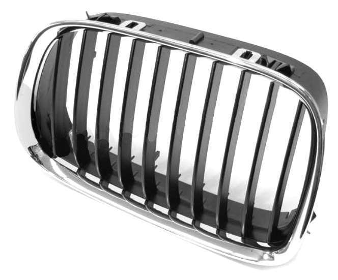 51138159315 Genuine BMW Grille; Front Left; Black