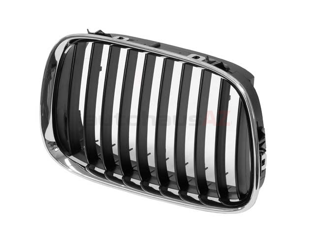 51138159316 Genuine BMW Grille; Front Right; Black
