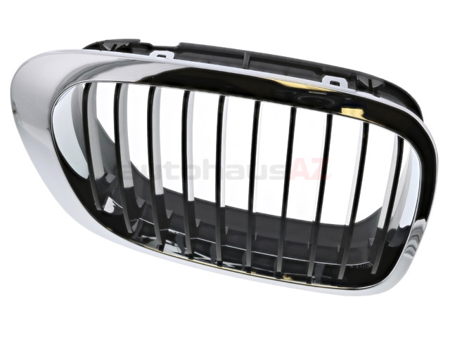51138208684 BBR Automotive Grille; Right; Chrome with Black Grille