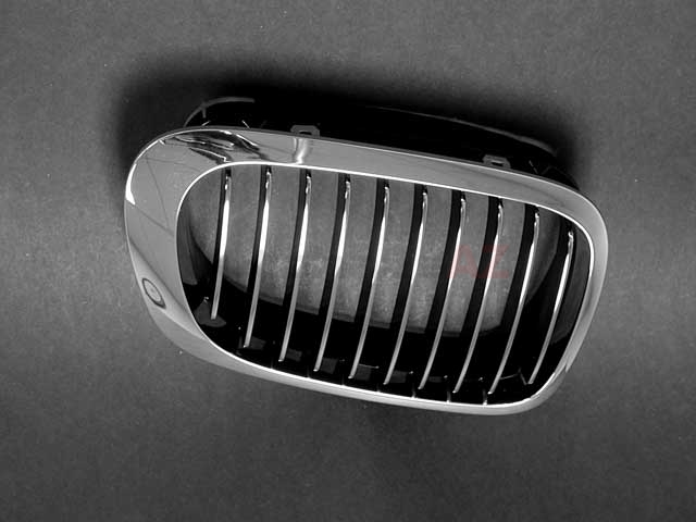 51138208686 Genuine BMW Grille; Right; Chrome Grille and Trim