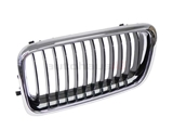 51138231593 URO Parts Grille; Front Left with Black Center