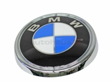 51143401005 Genuine BMW Emblem; Rear Hatch