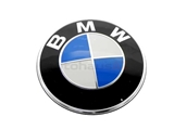 51147057794 Genuine BMW Emblem; BMW Roundel; 82mm Diameter