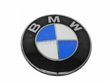 51148132375 Genuine BMW Emblem; BMW Roundel; 82mm Diameter
