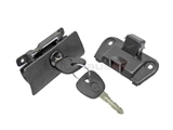 51161962654 MTC Glove Box Lock; Latch Assembly with Lock & Key
