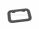 51211876043 Genuine BMW Interior Door Handle Trim; Front or Rear Inner Trim Bezel/Escutcheon