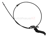 51231884281 Genuine BMW Hood Release Cable; Complete Assembly