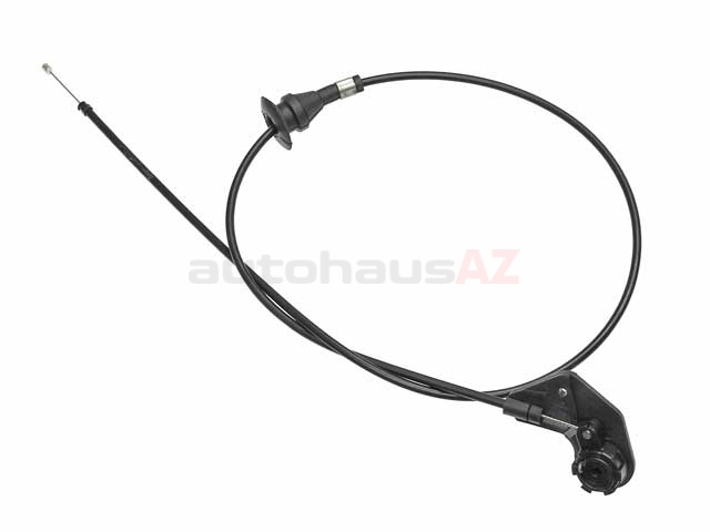 51238176595 Genuine BMW Hood Release Cable; Release Mechanism and Cable, without Handle
