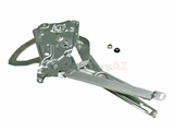 51331977609 Genuine BMW Window Regulator; Front Left without Motor for Power Window