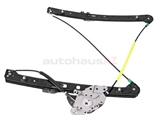 51337020659 Genuine BMW Window Regulator; Front Left for Power Window; Without Motor