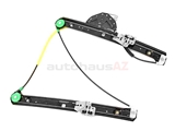 51337020660 Genuine BMW Window Regulator; Front Right for Power Window; Without Motor