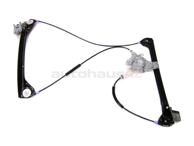51338229105 Genuine BMW Window Regulator; Front Left without Motor