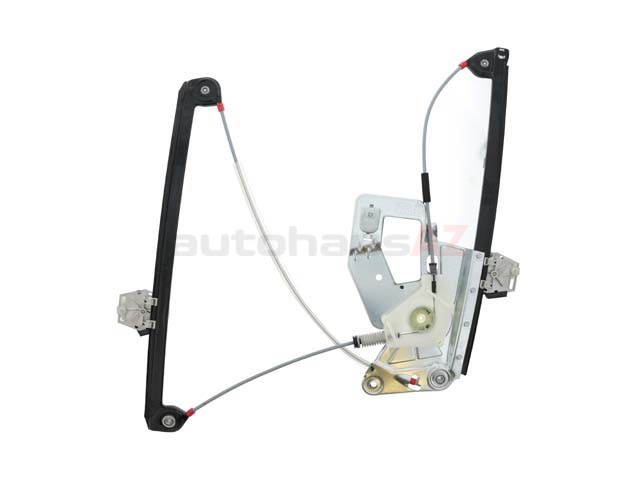 51338252393 Genuine BMW Window Regulator; Front Left without Motor for Power Window