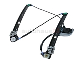 51338254912U URO Parts Premium Window Regulator; Front Right without Motor for Power Window
