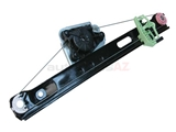 51357140589URO URO Parts Premium Window Regulator; Rear Left without Motor