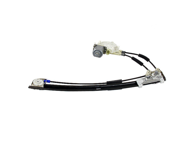 51358159835 Genuine BMW Window Regulator; Rear Left with Motor for Power Window
