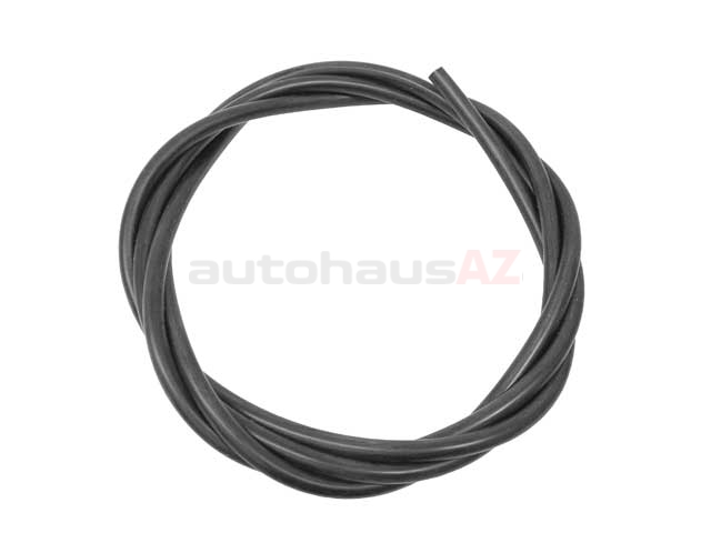 51731470035 CRP-Contitech Vacuum Hose/Line; Black Silicone Tubing; 3.5mm ID x 2mm wall thickness; BULK