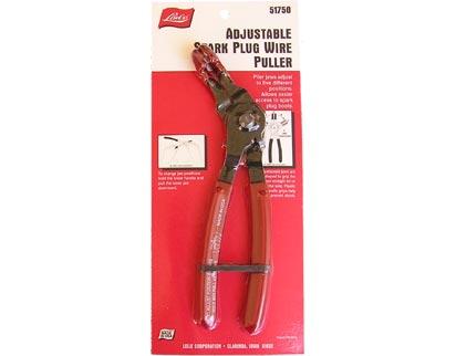 Lisle Tools 51750LISLE Spark Plug Connector Tool; Adjustable Spark ...