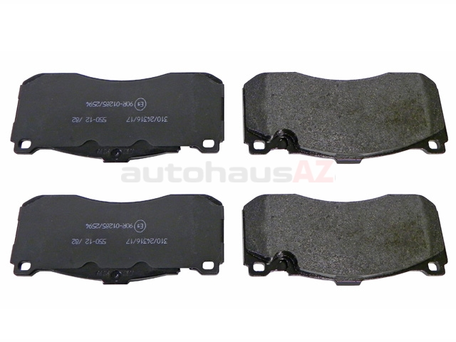 573294JAS Jurid Brake Pad Set; Front