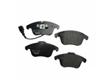 5N0698151A Textar Brake Pad Set; Front; With Sensor