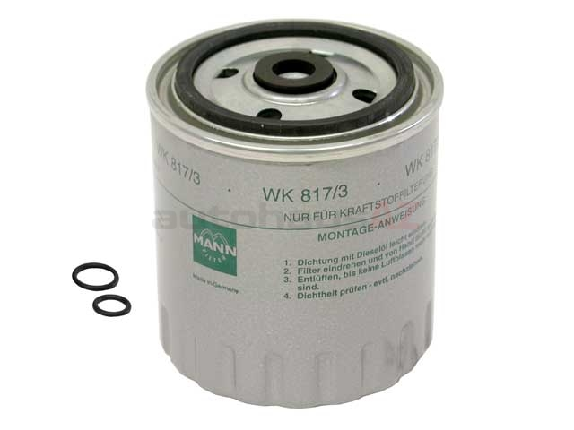 Mann 6010901452, WK8173X Fuel Filter; Spin-On Style - Mercedes | 0010900352  0010922301 30789123 6010900352AutohausAZ