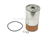 6011800009 Mahle Oil Filter Kit; Filter With Seal Rings
