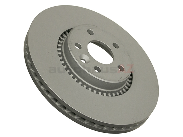 610371120 Zimmermann Coat Z Disc Brake Rotor; Front; Vented 316mm Diameter