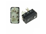 61311387916 Meyle Power Window Switch; Without Tip Switch Function; White Terminal Housing