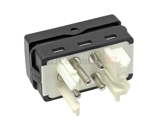 61311387916U URO Parts Power Window Switch; Without Tip Switch Function; White Terminal Housing