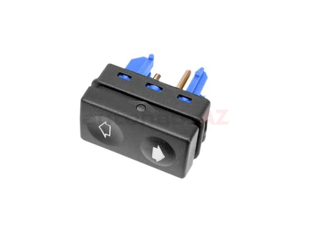 61311393361 Febi Power Window Switch; Rear with Blue Terminal Housing