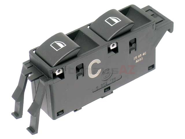 61316902178 Genuine BMW Power Window Switch; Front Right Assembly
