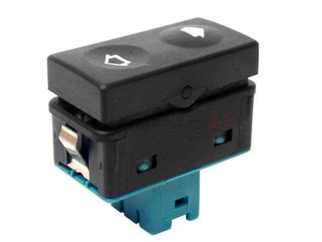 61318365300 URO Parts Power Window Switch; With Tip Function; Green Terminal Housing