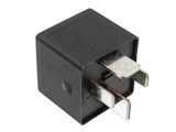 61366901469 Genuine BMW/Mini Multi Purpose Relay; 4-Prong; Black